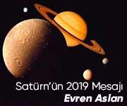 Satürn'ün 2019 Mesajı